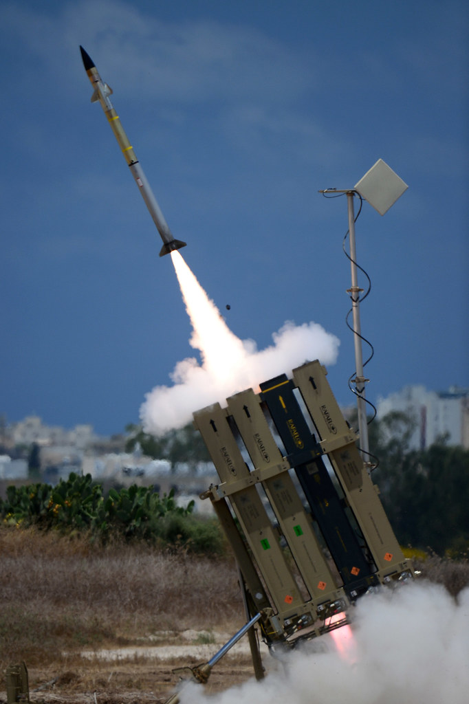 Iron Dome's First Large Battle